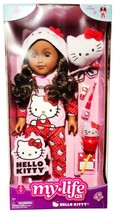 """My Life as Hello Kitty African American Posable 18"""" Doll with 9 Piece Accessory  - $59.35"""