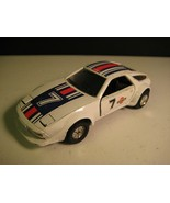 Porsche Martini 928 Die-Cast 1:43 Pullback Racing Car with Moving Lights... - $10.80