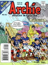 Archie Digest Magazine #152 VF/NM; Archie | save on shipping - details inside - $4.99