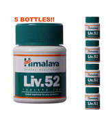 5 LOT x Himalaya Liv52 Herbal Liv 52 100 Tablets (Liver Care) USA FAST S... - $24.95