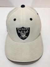American Needle NFL Raiders Cap Hat Size 7 1/4 Fitted Vintage Headwear W... - $41.80