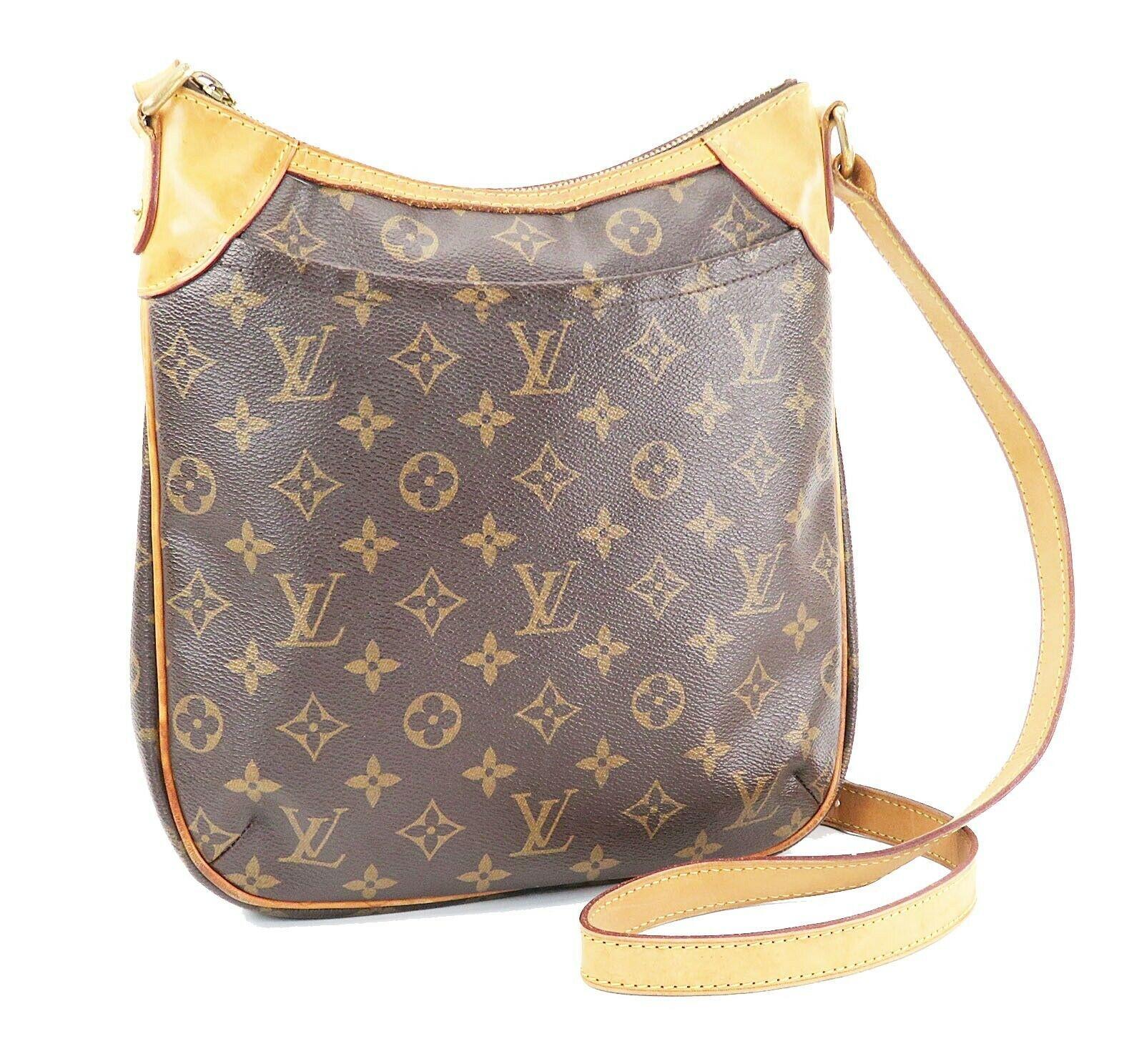 Authentic LOUIS VUITTON Odeon PM Monogram Shoulder Tote Bag Purse #32116