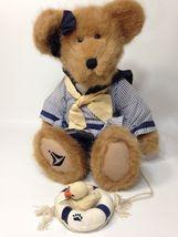 Boyds Bears Morgan T Yachtley Plush Teddy Bear w/ Duck Bill TJ's Best Dressed - $39.99