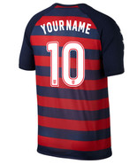 USA Home CUSTOMISE NAME NUMBER 2017 Men Soccer Jersey Football Shirt Gol... - $36.99