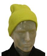 Mens Ladies Knitted Soft Woolly Winter Oversized Ski Beanie Hat Cap skat... - $5.06