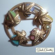 Vintage Sarah Coventry  Jewelry - #6712  Semi-precious Pin - $15.44
