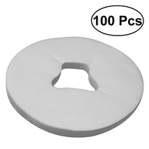 ROSENICE 100pcs Disposable Massage Face Cradle Cover - Breathing Non-Wov... - $10.28