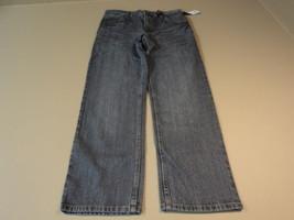 Faded Glory Boys Pants Straight Cut 100% Cotton Male Kids 14 Blues FB10205B - $18.46