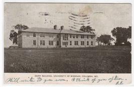 Dairy Building University Missouri Columbia MO 1907 postcard - $6.44