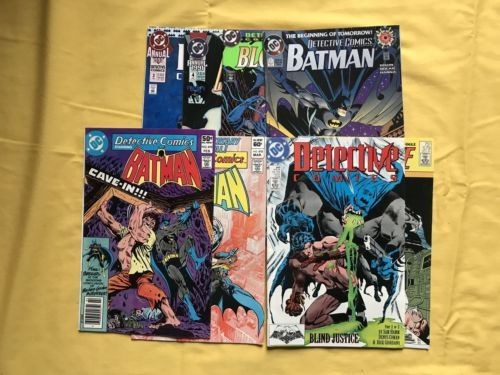 Lot 8 Detective Comics 1937 1st Series 0 499-599 Annuals 3 4 6 FN-VF Very Fine