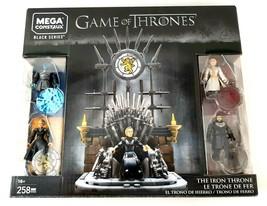 MEGA CONSTRUX BLACK SERIES - GAME OF THRONES THE IRON THRONE SET GKM68 New - $32.94