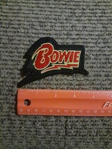 David Bowie Rock Icon Sew or Iron on Patch NEW - $6.86