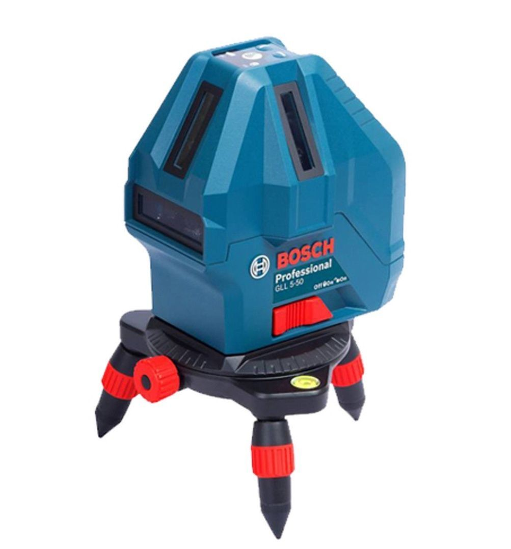 Bosch GLL 5-50 Professional 5-Line Laser Level Measure Self-Leveling