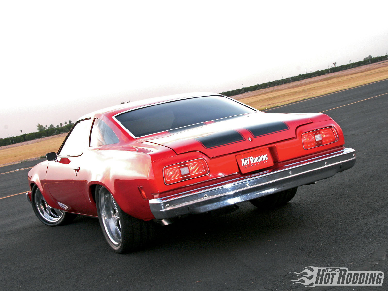 Primary image for 1974 Chevrolet Chevelle Malibu rear | 24 X 36 inch poster