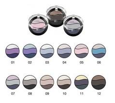 Bell HYPOAllergenic - Triple Eyeshadow - Look Deep and Intense Velvet Color - $7.38