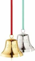 NEW GEORG JENSEN Living Christmas 2016 Bell Ornament  Denmark Gold plated - $24.74
