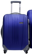 """Traveler's Choice Blue Toronto 21"""" Carry-on Spinner Suitcase Travel Lugg... - $69.29"""