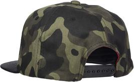 Hugo Boss Army Camouflage Adjustable Sport Baseball Flatbrim Snapback Hat Cap image 6