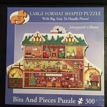 """Santa's Workshop - 300 Piece Large Format Puzzle by Bits & Pieces (18"""" x 27"""") - $12.98"""