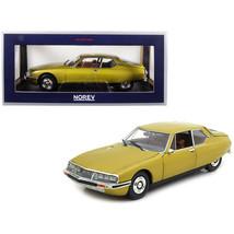 1971 Citroen SM Golden Leaf / Gold 1/18 Diecast Model Car by Norev 181730 - $99.76