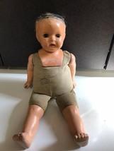 "Antique Madame Hendrent 18"" doll sleepy eyes Composition crier ?  #218 - $79.15"