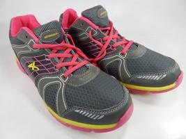 Athletech Willow 2 Größe UK 11 M (B) Eu 44 Damen Laufschuhe Grau Pink