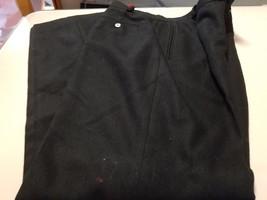 womans ralph lauren size 8 black wool pants - $9.50