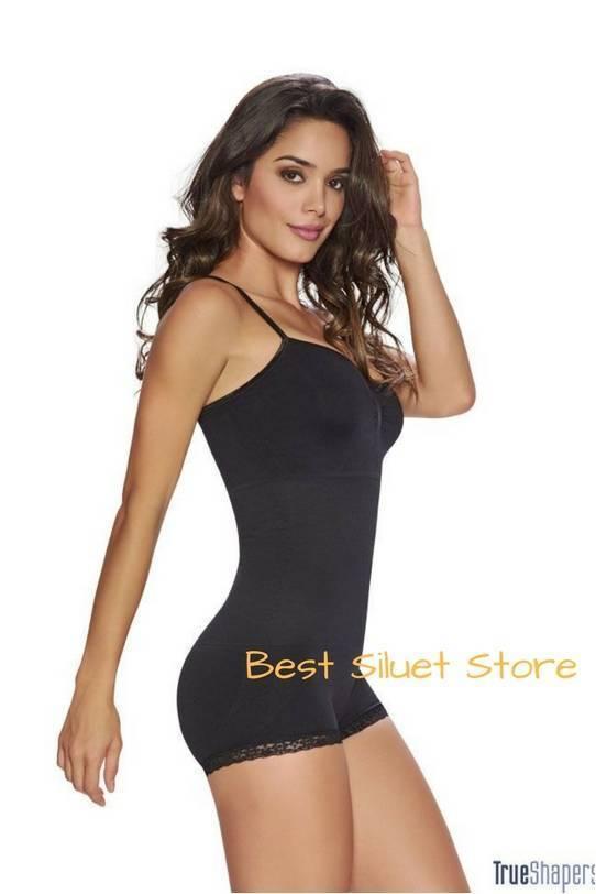 Faja Colombiana TRUESHAPERS complete body shaper slim waist control hips 1282