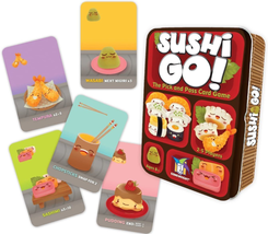 Sushi Go! - The Pick and Pass Card Game - $12.07