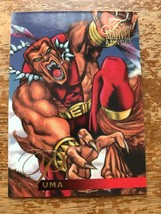 Marvel Flair Annual 1995 #63 Puma Single Card - $4.99