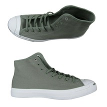 Converse Jack Purcell Mid Sneakers Dark Stucco Light Olive Size 10 Mens ... - $54.44