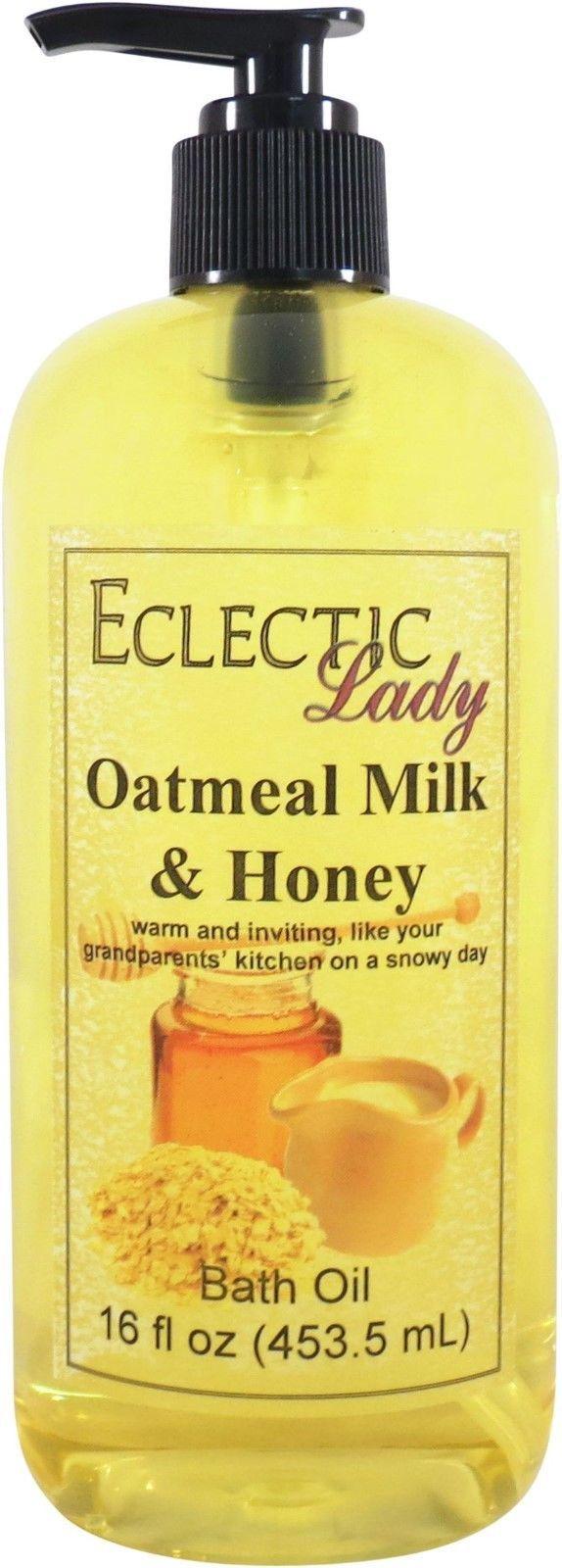 Oatmeal Milk and Honey Bath Oil