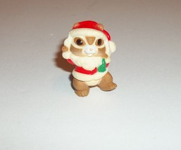 Hallmark Merry Miniatures Vintage Christmas Santa Claus Chipmunk - $5.94