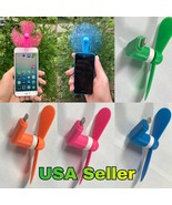 Micro USB Cooling Fan For iPhone 7, 6, 6S, Plus, 5, 5C etc., 4 Colors to... - $5.99
