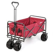 Sekey Folding Wagon Cart Collapsible Outdoor Utility Wagon Garden Shoppi... - $153.23