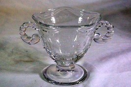 Fostoria 1954 Mayflower Open Sugar Bowl - $6.92