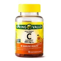 Spring Valley Vitamin C Gummy Immune Health 250mg 70 Gummies - $16.80