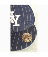 Mens Unique Headwear New York Yankees Striped Logo Baseball Hat XL TNT 5... - $18.00