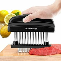 Meat Tenderizer Needle, DIWENHOUSE 48 Ultra Sharp Stainless Steel Blades... - $14.07