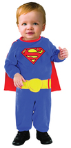 Super Hero Superman , Toddler Costume , 6 to 12 , Free Shipping - $644,16 MXN