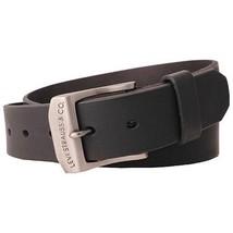 New Levi's Men's Stylish Classic Premium Genuine Leather Belt Black 11LV0204