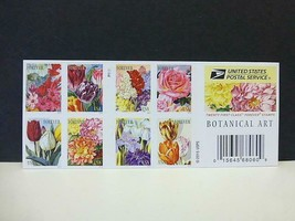 Botanical Art 20 Forever US Stamps Imperf Uncut Press Sheet Convertible ... - $148.49