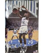 Shaquille O'Neal Signed Autographed Wall Poster Orlando Magic - COA Holo... - $129.99
