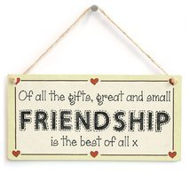 Meijiafei Of all the gifts, great and small Friendship is the best of all x - Fr