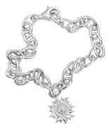 Coqui el Original® Sun charm bracelet Sterling Silver .925 - $181.00