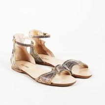 Miu Miu Embossed Snakeskin Sandals SZ 36.5 - $160.00