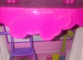 Polly Pocket 2-story Fashion Mall With Working Disco Lights Escalator In... - $14.00