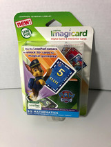 LeapFrog Imagicard PAW PATROL Mathematics Learning Game Ages 3-5 Countin... - $7.91