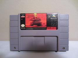 Super Nintendo Super Battletank 2 Gioco Cartuccia Snes 1994 Testato - $6.90