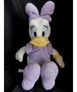 "Disney Daffy Duck Plush Stuffed 16"" LARGE Purple Shoes Clothing - $35.23"